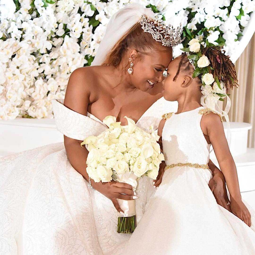 Eva Marcille & Michael Sterling's Wedding Photos are here ...