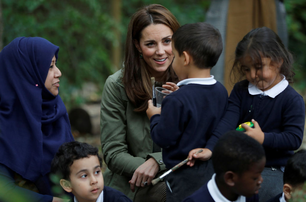 Kate Middleton's Sweet Reply To A Little Girl's Question
