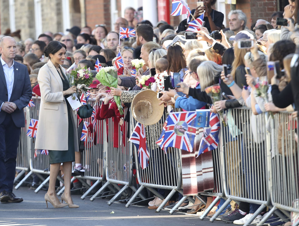 Meghan Markle Finds a Piece of Her Old Life in Sussex