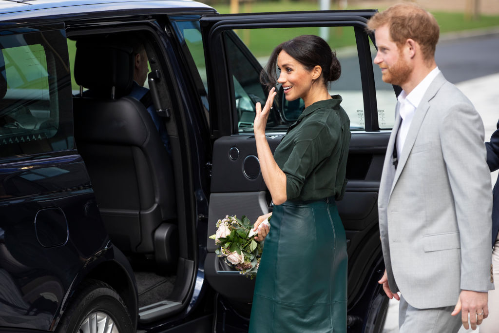 Duke & Duchess of Sussex have made their First Official Visit to Sussex