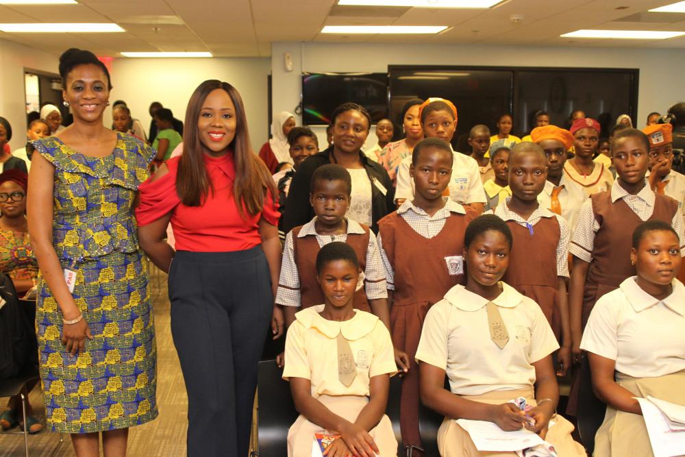 Mercy Johnson Okojie, Uche Pedro, Yinka Davies Inspire Schoolgirls at #DayOfTheGirl Event