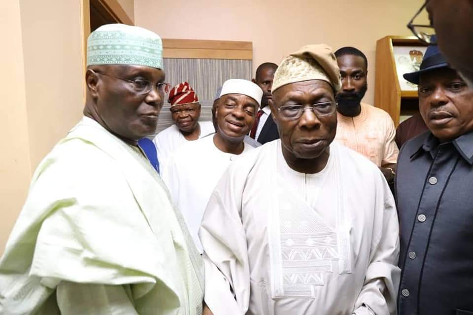 Obasanjo endorses Atiku for President in 2019