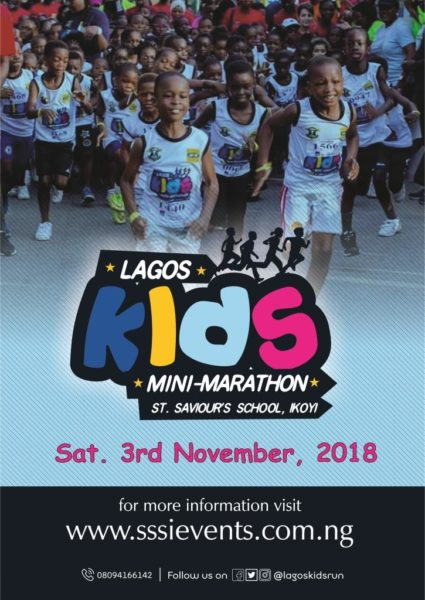 2018 Lagos Kids Mini-Marathon