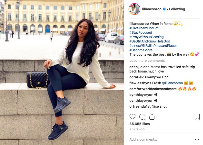 Image result for Lilian Esoro may have gotten a new boo