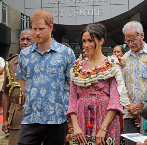"Meghan Markle's Fiji Market Visit cut short due to ""Security Risk"" | BellaNaija"
