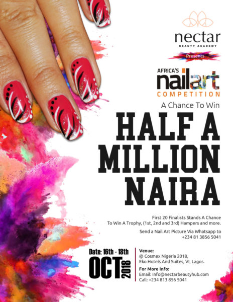 3rd Edition of Africa's Nail Art Competition Banner