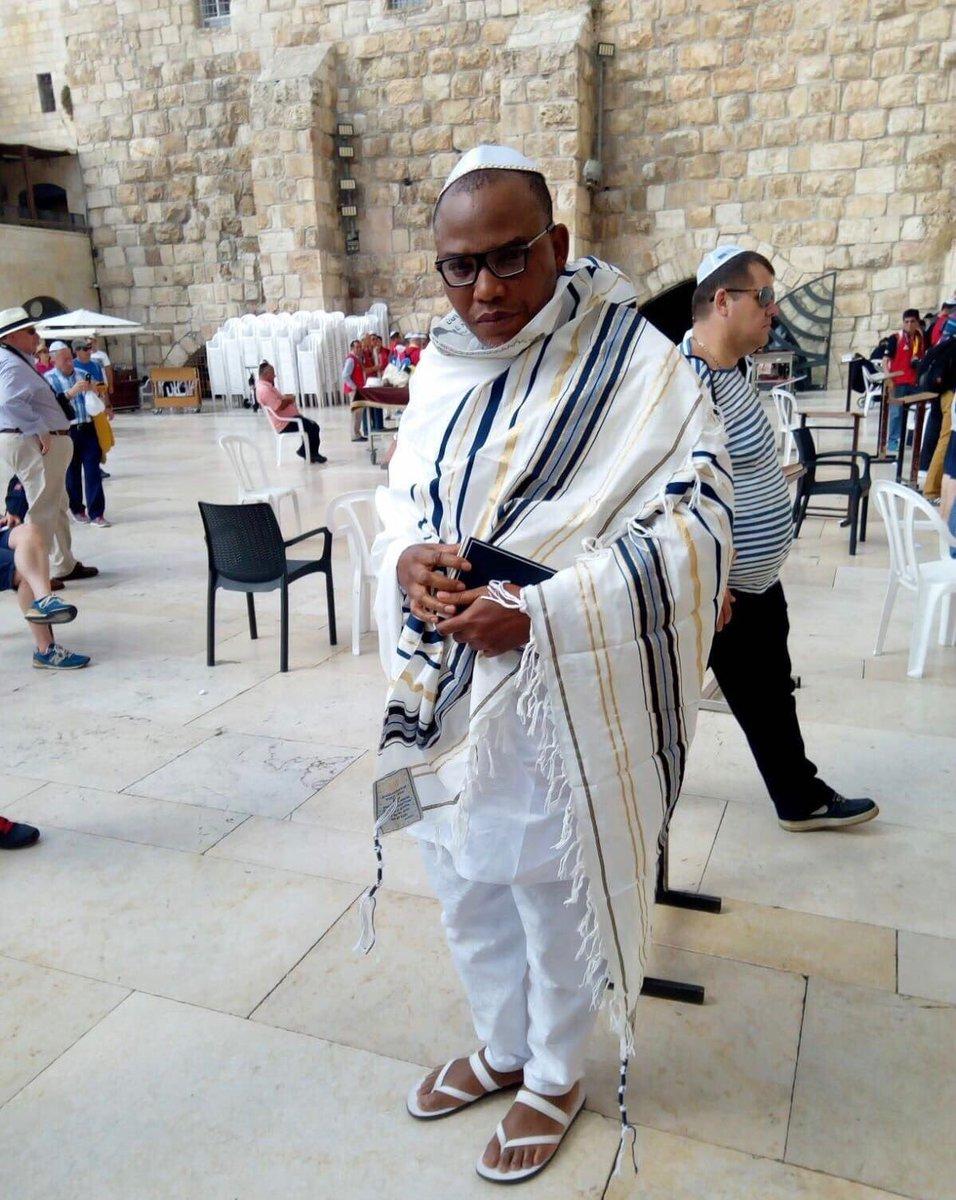 Nnamdi Kanu spotted in Jerusalem | WATCH