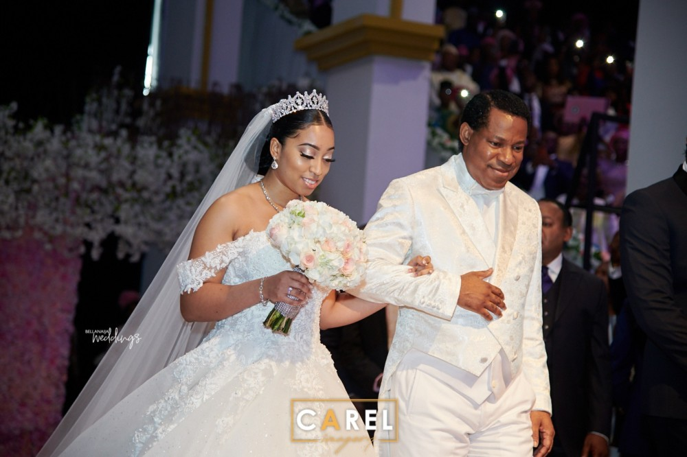 Photos: Benny Hinn officiates Pastor Chris' daughter's