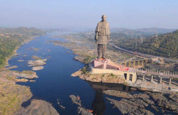 "India unveils world's tallest statue ""Statue of Unity"" | BellaNaija"