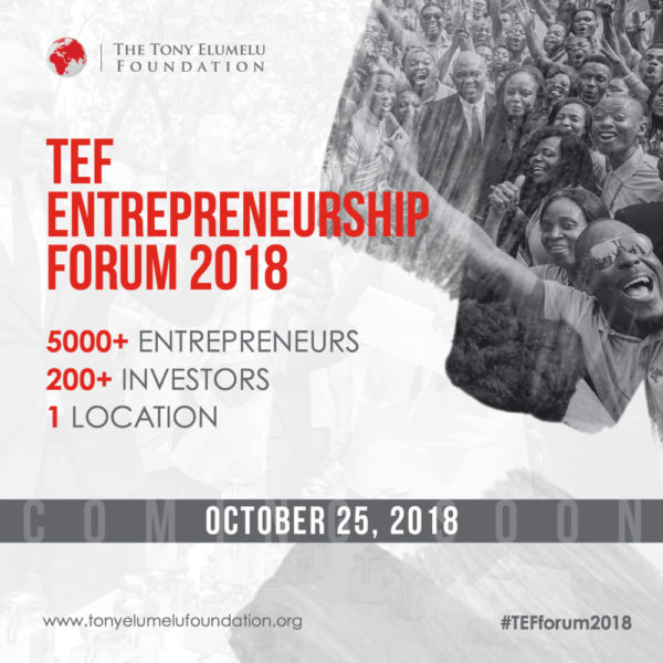 Tony Elumelu Foundation Entrepreneurship Forum Banner