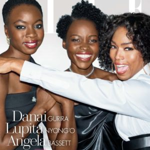 Lupita Nyong'O, Dania Gurira and Angela Bassett Are The Power Women On The Cover Of Elle USA November Issue!
