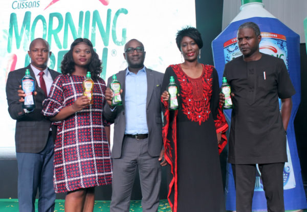 Morning Fresh Unveils New Bottle at a Relaunch Event in Lagos