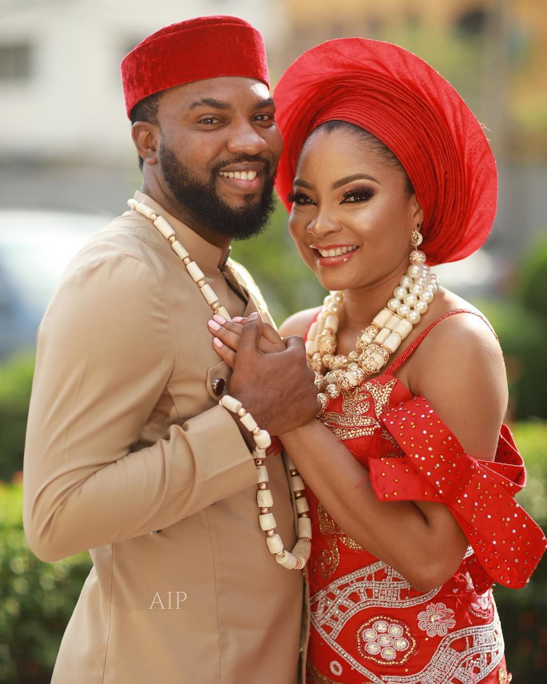 First Look: Linda Ejiofor & Ibrahim Sule are Legally and Traditionally Married 💞💍