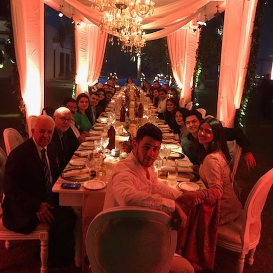 Priyanka Chopra celebrates Thanksgiving with fiance Nick Jonas and family