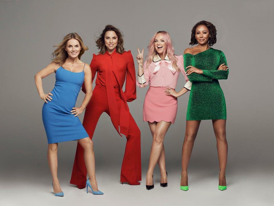 The Spice Girls Reunite For UK Tour, No Mention Of Victoria Beckham