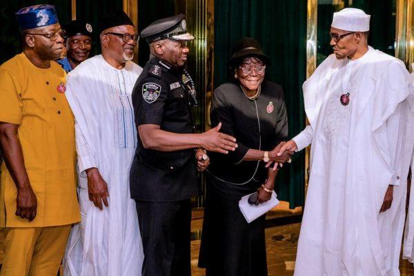 Buhari approves Salary Increase for Police Officers | BellaNaija