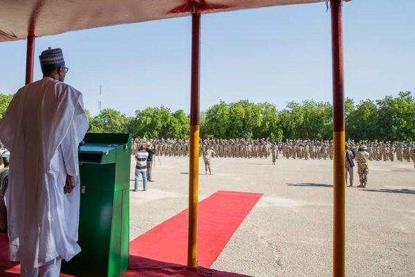 """It is a must win war"" - Buhari tells Soldiers fighting Boko Haram | BellaNaija"