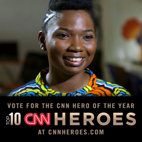 Abisoye Ajayi-Akinfolarin of the Pearls Africa Foundation is among the top 10 CNN Heroes of the 2018 | BellaNaija
