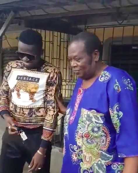 BN Sweet Spot: Akpororo surprises Friend's Dad with a New Car ❤
