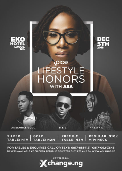 Spice Lifestyle Honors 2018