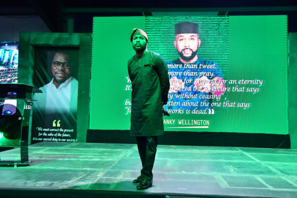 """""""I am running for my unborn children"""" - Banky W charges Youths to be Active Citizens 