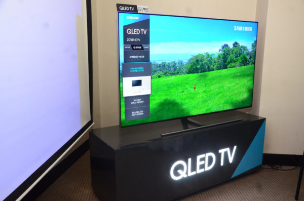 Samsung Electronics launches QLED TV 2018 in Nigeria