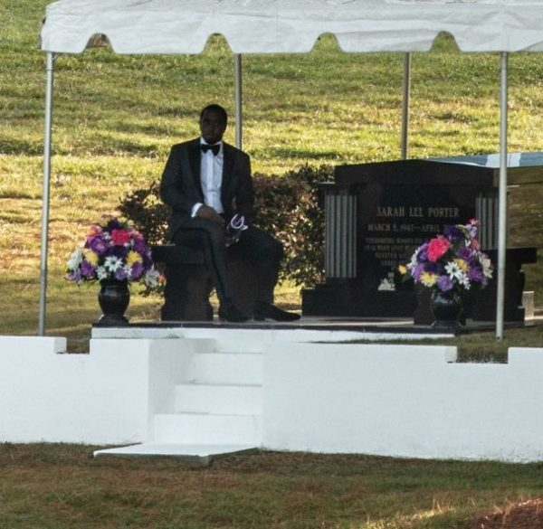 Diddy delivers Emotional Eulogy at Kim Porter's Burial