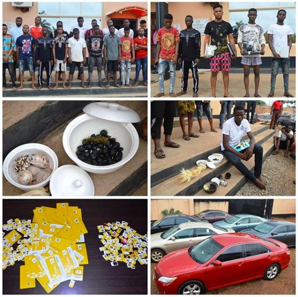 EFCC arrests 23 OOU students, 12 others for Internet fraud