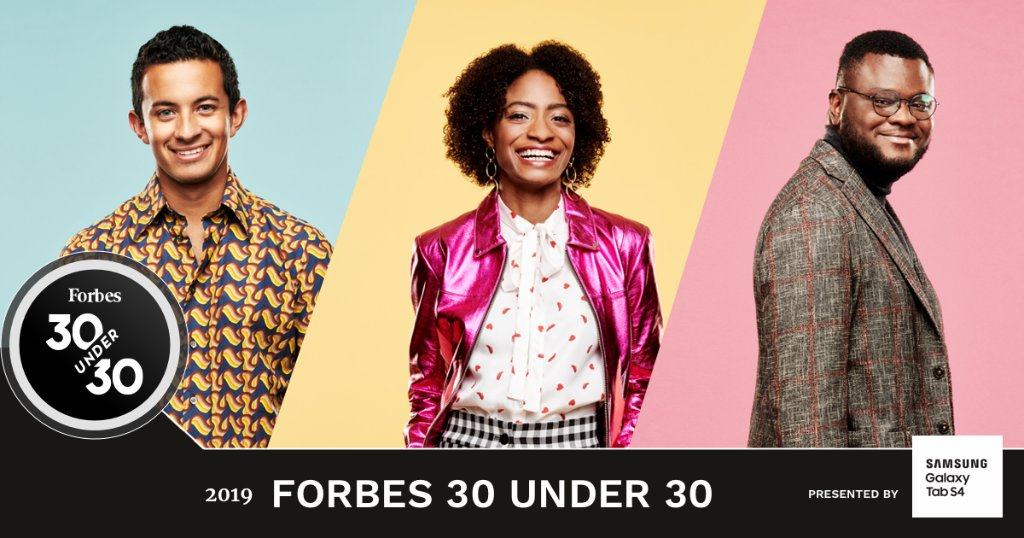 Forbes releases its 30 Under 30 Class of 2019 List!