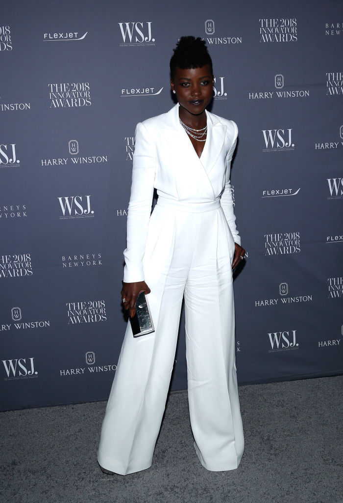 Lupita Nyong'o steps out in Style for WSJ. Magazine's 2018 Innovator Awards