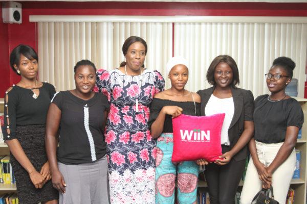 Folashade Ambrose-Medebem Inspires Female Students of 'Women Inspiring Impact Network'