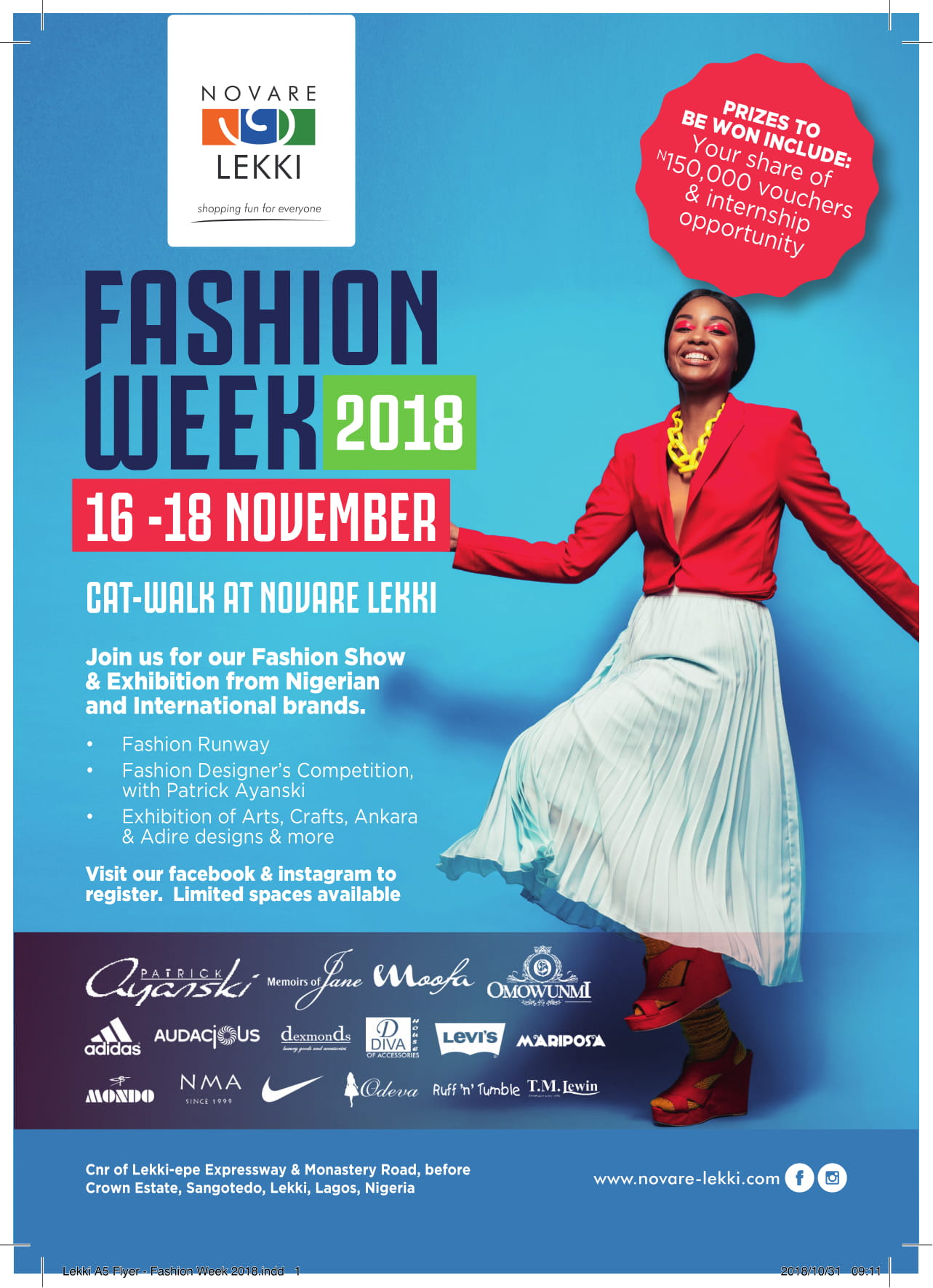 Enjoy 3 Days Exhibition Of African Art Craft Fashion Runway Show At Novare Lekki Fashion Week November 16th 18th Bellanaija