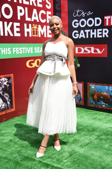 Nancy Isime at MultiChoice Festive Launch