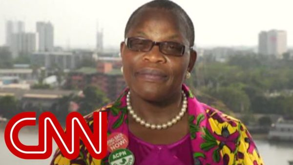 Oby Ezekwesili talks ending Corruption & Boko Haram in interview with Christine Amanpour