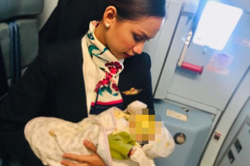 This Air Hostess breastfed a Passenger's Crying Baby after Mum ran out of Formula