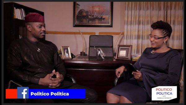 Isabella Akinseye talks to Lagos Senatorial Candidate Gbadebo Rhodes-Vivour on Politico Politica   WATCH   BellaNaija