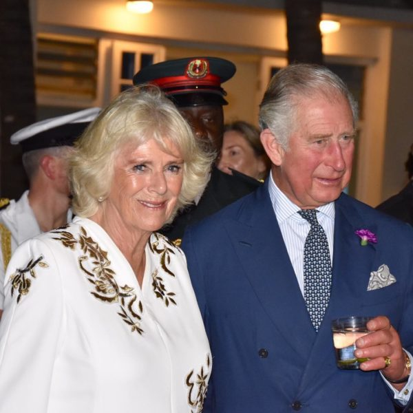 Prince Charles & Camilla arrive Lagos | BellaNaija