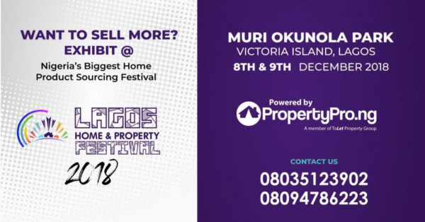 Lagos Home and Property Festival 2018