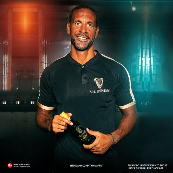 Rio Ferdinand in Nigeria