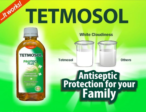 Tetmosol Antiseptic Liquid