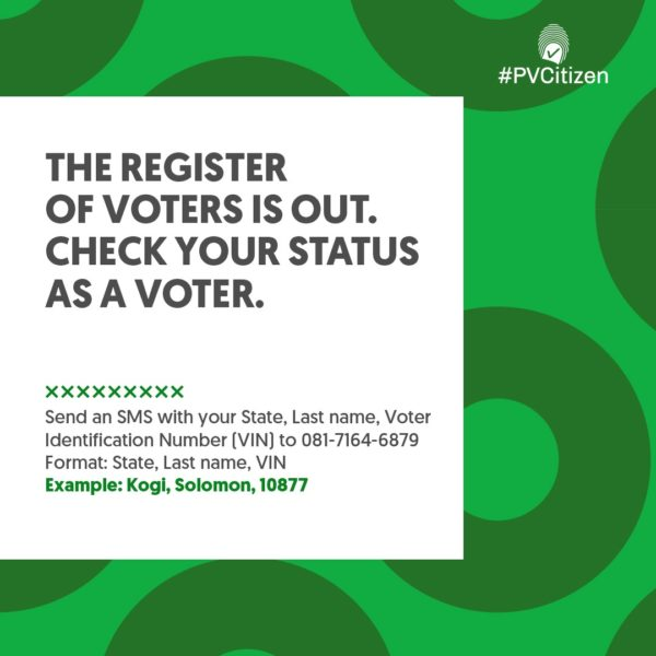 #PVCitizen: You Need to Confirm Your Name on the Voters Register   BellaNaija