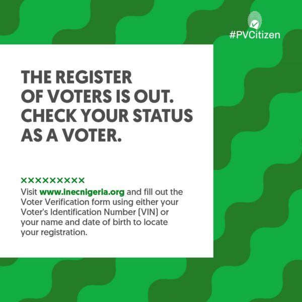 #PVCitizen: Check the Voters Register to Confirm Your Registration