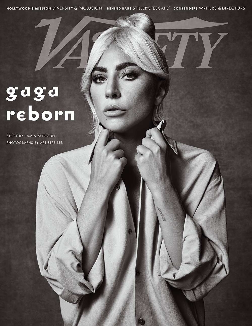Lady Gaga covers Variety Magazine's Latest Issue