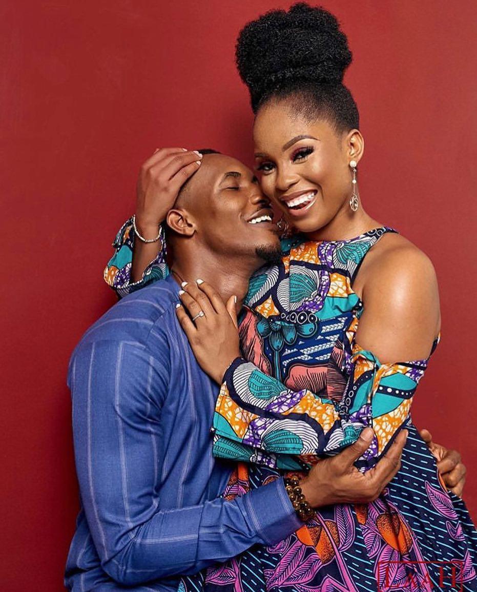 Gideon Okeke & Fiancée Chidera Uduezue are Glowing in these Photos 💞