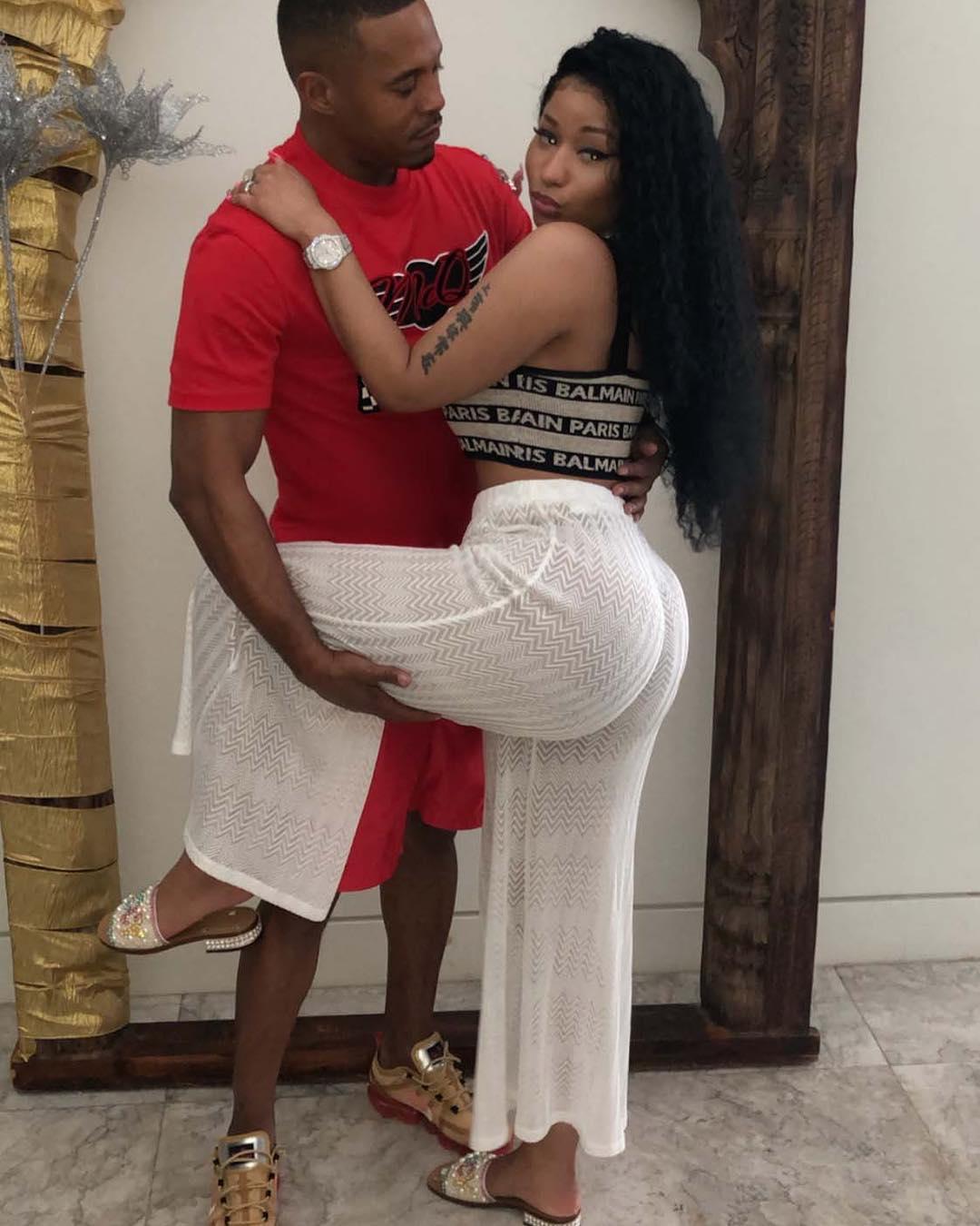 Nicki Minaj & Convicted Rapist Boyfriend Make It IG Official
