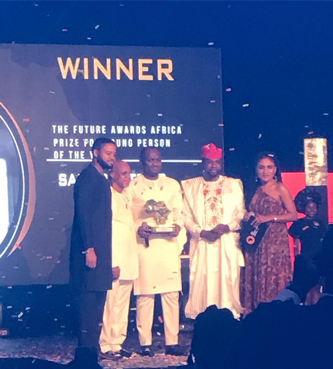 Zainab Balogun, Ahmed Musa, Simi, Samson Itodo win at The Future Awards Africa 2018 | See Full List