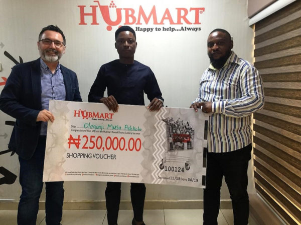Hubmart rewards Loyal Customers with Shopping Vouchers in its 2nd Raffle Draw Promotion