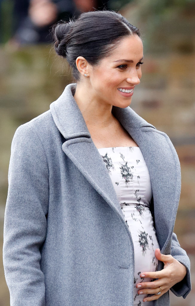 Meghan Markle shows off growing Baby Bump during Final Public Appearance before Christmas