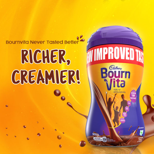 New Cadbury Bournvita