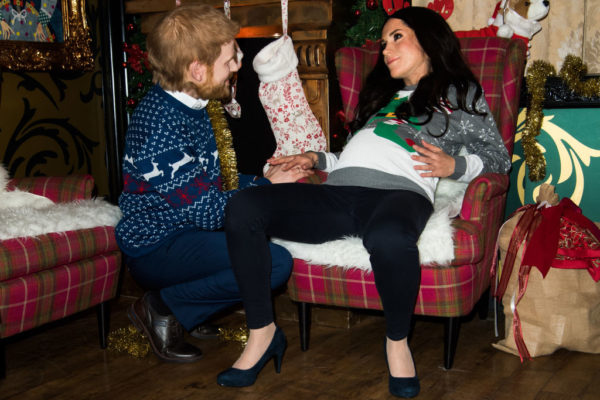 The Cambridges Pose For Rare Candid Snap Together For Christmas Card
